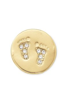The day this little one was born, your whole life was changed for the better. Wear these sparkling baby feet to commemorate a very important birth.
