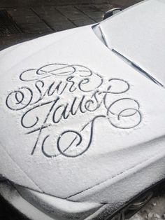type-lover:Snow Scriptby Faust New York