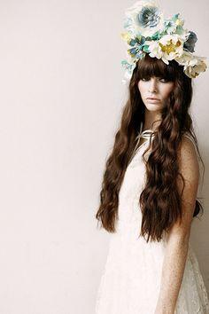 Fashion and flower wedding ideas