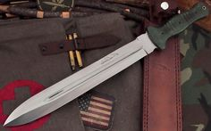 CFK USA iPak Custom Handmade D2 Combat Dagger Short Sword Son Of Chaos Knife