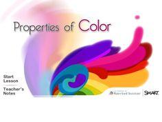 Properties of Color Smartboard