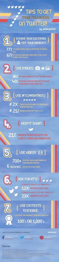 7 maneras de conseguir mas seguidores en Twitter