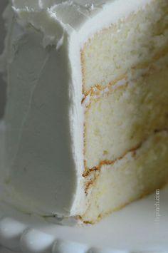 The Best White Cake Recipe (ever)