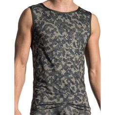 Olaf Benz Tank Top RED1706 Camouflage (T5416) Camouflage, Gym Wear, Famous Brands, Olaf, Workout Wear, Clubwear, Mens Fitness, Party Wear, Benz