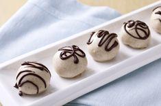 TEDDY GRAHAMS Honey Nut Cookie Balls recipe