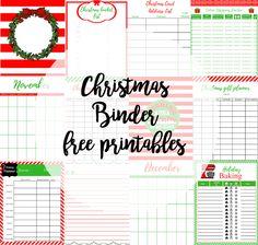 stay crafty my friends: CHRISTMAS BINDER...FREE PRINTABLES