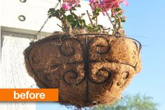 Before & After: From Hanging Plant Basket to Easy Outdoor Chandelier — Club Chica Circle