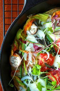 based flatbread veggie topped chickpea based seasonal veggie socca ...