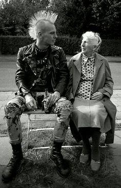 Punk y abuela