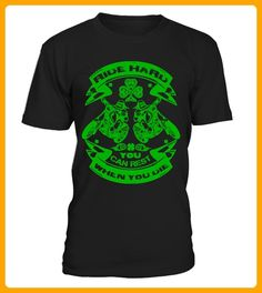 St Patricks Day Ride hard - St patricks day shirts (*Partner-Link)