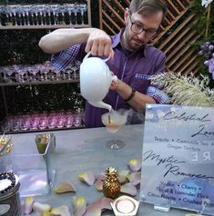 Serving up molecular cocktails.. This one was made with #organic tequila Camomile Lemongrass & Lemonbalm tea & Ginger tincture. . . . HOSTED BY  DESIGNER: Hayley Paige // IG @misshayleypaige  BOUTIQUE: JLM Couture Flagship Boutique// IG @jlmboutique  MEDIA: California Wedding Day// IG @californiaweddingday  PLANNING & DESIGN: Anything But Gray Events// IG @anythingbutgrayevents  SPONSORED BY  CATERER: Colette's Catering // IG @colettescatering  BAR: The Natural Mixologist // IG… Molecular Cocktails, Hayley Paige, Lemon Grass, California Wedding, Tequila, Special Events, Catering, Wedding Day, Product Launch