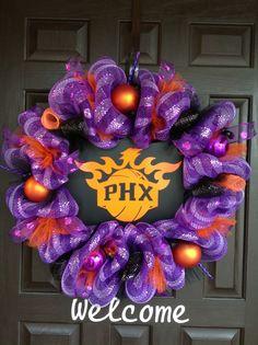 PHX Suns Wreath.