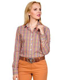 e6f15afba1d6 Karo-Bluse mehrfarbig kariert im Daniels   Korff Shop