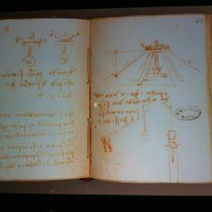 The grand master exhibition Istanbul - Leonardo's journal