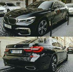 BMW G12 7 series black