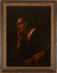 Oljemålning efter Giuseppe Ribera