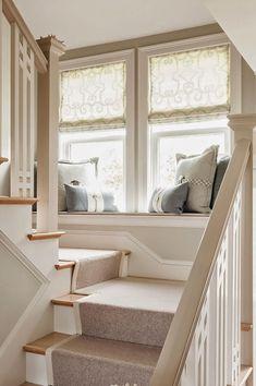 Great idea: Window seats | http://blog.oakfurnitureland.co.uk/inspiration-station/great-idea-window-seats/