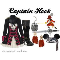 """Captain Hook"" by disney-villains on Polyvore"