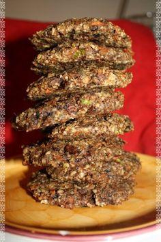 Raw Mushroom Seed Burgers
