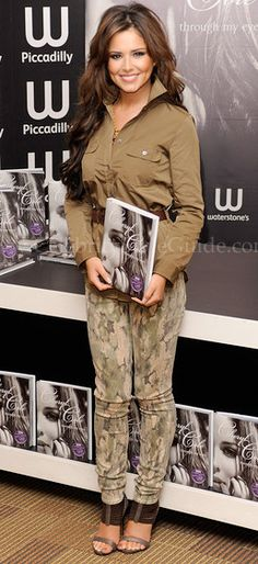 Cheryl Cole attended a book signing for her new book, 'Through My Eyes,' in London, England On Friday, October 1, 2010
