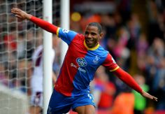 Palace v Villa - Crystal Palace's Jason Puncheon celebrates scoring against Aston Villa at Selhurst Park Crystal Palace Fc, Aston Villa, Football, Crystals, Celebrities, Punch, Park, Style, Fashion