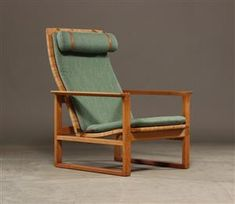 Vara: 4208500 Børge Mogensen. Hvilestol, Danish Furniture, Scandinavian Furniture, Furniture Design, Diy Chair, Mid Century House, Furnitures, Home Furnishings, Objects, Chairs