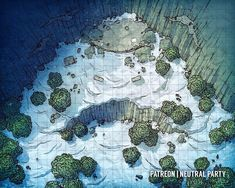 A catalog for user created maps and links to maps by other artists suitable for use in any D&D campaign, adventure, or encounter. Dungeons And Dragons Homebrew, D&d Dungeons And Dragons, Fantasy Map, Fantasy World, Fantasy Forest, Dnd World Map, Pathfinder Maps, Rpg Map, Map Pictures