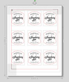 Homemade Canning Labels Tutorial {$325 Silhouette Giveaway}   Skip To My Lou