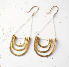 Golden Arch Earrings
