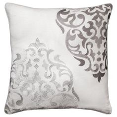 Mudhut™ Hope Embroidered Medallion Pillow - 20x20""