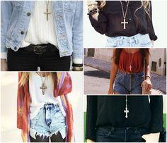 mODELANDO ... - Crucifixos, a moda dos anos 80 volta a tona! - Crucifixos, a moda dos anos 80 volta a tona!