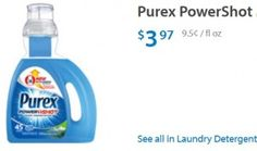 RUN! New $2/1 Purex Detergent coupon *NO SIZE RESTRICTIONS* ($1.97 at Walmart!) - http://www.couponaholic.net/2015/04/run-new-21-purex-detergent-coupon-no-size-restrictions-1-97-at-walmart/