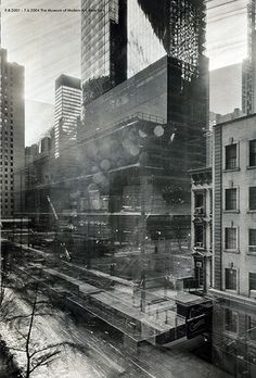 Artist Michael Wesely takes up to three years to take a single picture. His project captures years in a single photo.