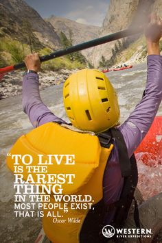 Rafting the Middle Fork of the Salmon River - or anywhere in the great big West will make you feel alive!
