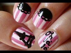 Parisian nail art