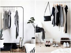 CHEAP AND MINIMALISTIC CLOTHES RACK