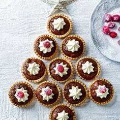 Brownie mince pies - Sainsbury's Magazine