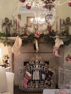 Cozy, Victorian Inspired Christmas Decor by Sweet Eye Candy Creations