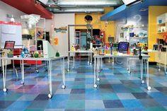 VBS 2015 SonSpark Labs - Jumbo Lab Backdrop  -