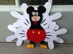 Tom the Turkey disguise kindergarten Mickey Mouse
