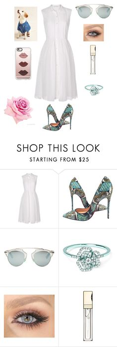 """""""Untitled #97"""" by patricia-pati ❤ liked on Polyvore featuring interior, interiors, interior design, home, home decor, interior decorating, Diane Von Furstenberg, Christian Louboutin, Christian Dior and AS29"""