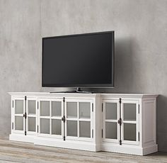 """French Casement 100"""" Media Console"""