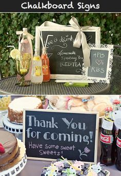 Chalkboard Wedding Inspiration.  To kinda incorporate being the best teacher in the world!
