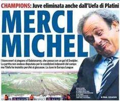 Juventus eliminata dalla Champions? Per Tuttosport è colpa di Platini