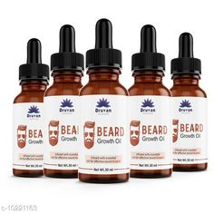 Beard Care Druvan Powerful Hair Beard Oil (Pack Of 5) Product Name: Druvan Powerful Hair Beard Oil (Pack Of 5) Multipack: 5 Country of Origin: India Sizes Available: Free Size   Catalog Rating: ★4.5 (578)  Catalog Name: druvan oil beard oil made in india CatalogID_1850537 C146-SC1819 Code: 723-10221163-147