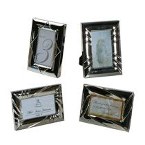 Small picture frames - great for table seatings/table numbers.