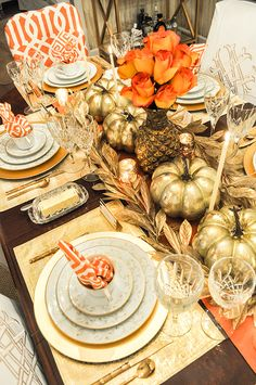 Love this tablescape! Emily McCarthy | In the colorful life of a Savannah-based designer.