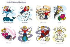 English idioms: Happiness