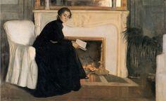Romantic Novel (1894) - Santiago Rusiñol i Prats