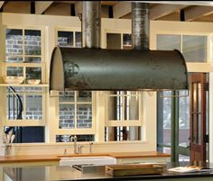 industrial style range hoods - Google Search